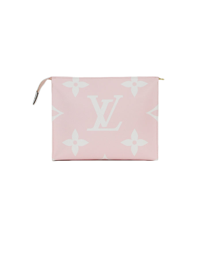 Louis Vuitton 2019 Red Rouge/Pink Monogram Giant Toiletry Pouch 26
