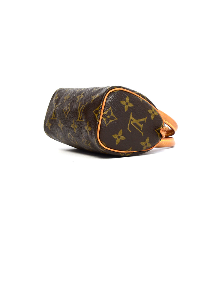 Louis Vuitton Monogram Mini Sac HL Speedy Bag