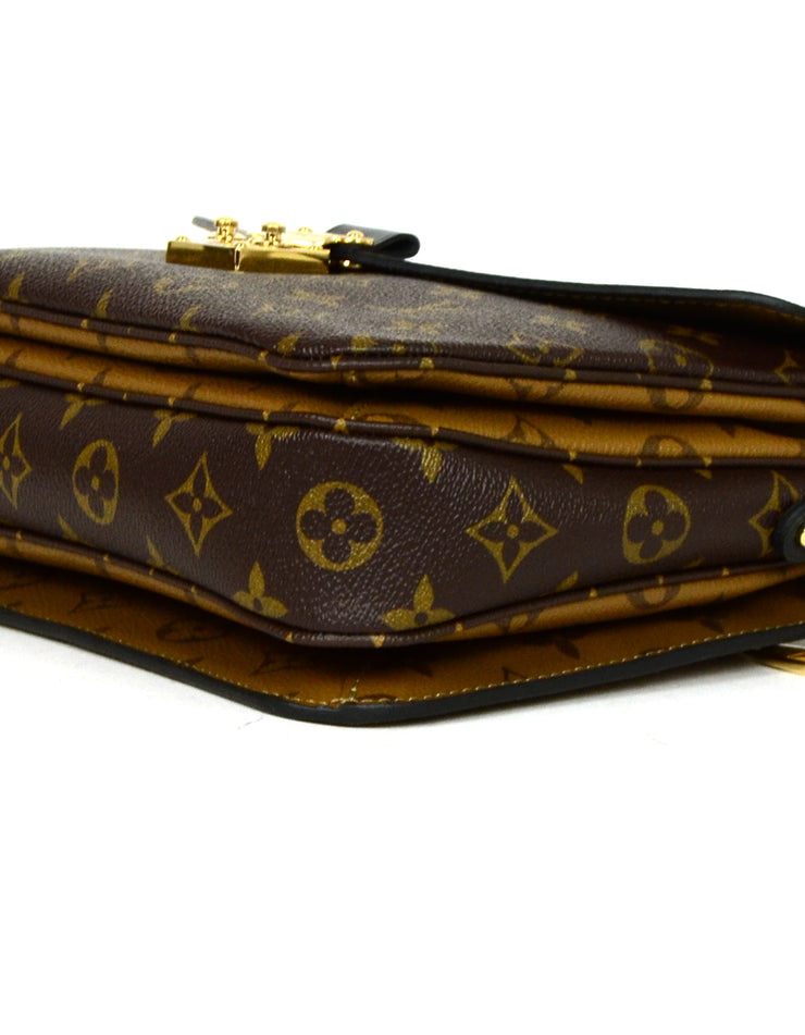 Louis Vuitton Reverse Monogram Pochette Metis Messenger Bag