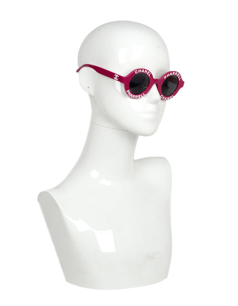 Chanel x Pharrell Williams 2019 Violet Sunglasses
