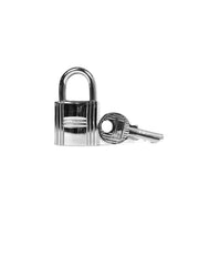 Hermes Palladium Cadena Lock and Key Set