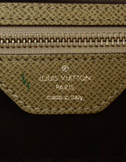 Louis Vuitton Glacier Grey Taiga Leather Vassili PM Messenger Bag