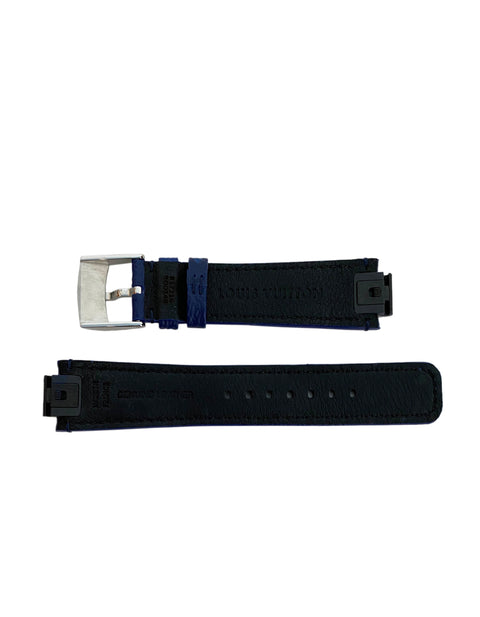 Louis Vuitton Monogram Cobalt Blue Tambour Watch Strap