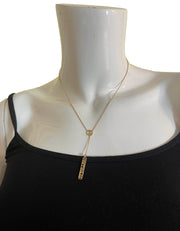 M2 by Mary Margill Y Skippy Diggy 14k Happiness Necklace w/Diamond