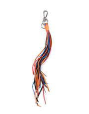 Loewe Multicolor Fringe Leather Bag Charm