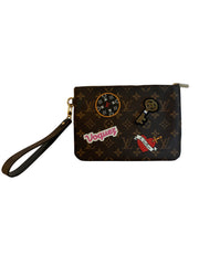 Louis Vuitton Limited Edition Patch Monogram City Pouch