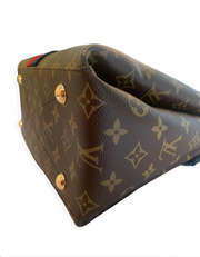 Louis Vuitton Monogram Georges MM Bag w/ Strap
