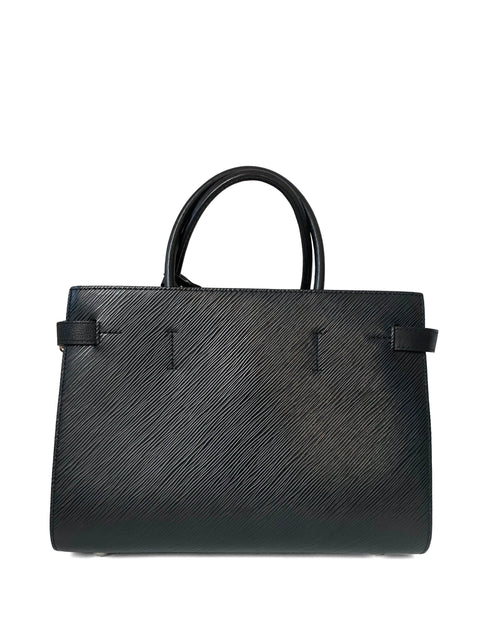 Louis Vuitton Black Epi Leather LV Twist Tote Bag
