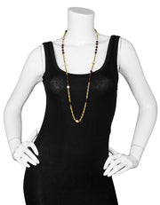 Chanel Vintage Pearl, Gripoix & Crystal Chain Necklace