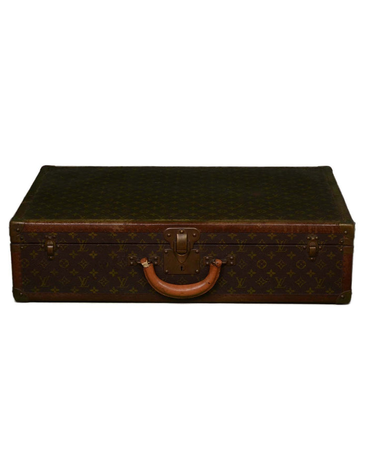 Louis Vuitton Vintage Monogram 70cm Hard Suitcase