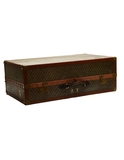 Goyard Vintage Brown & Grey Monogram Mini Wardrobe