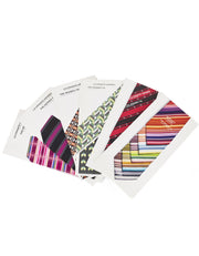 Hermes Set of Six Men's Tie Booklets