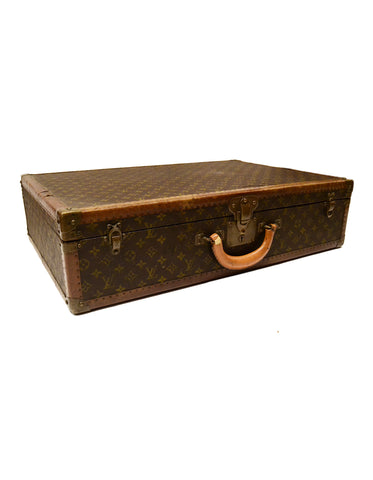Louis Vuitton Vintage Monogram 70cm Hard Suitcase Trunk