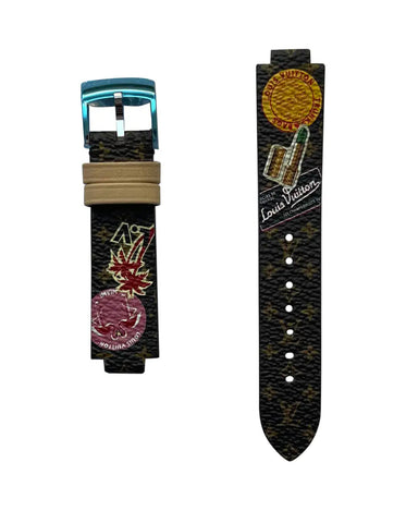 Louis Vuitton Monogram World Tour Watch Strap