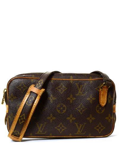 Louis Vuitton Monogram Marly Bandouliere Crossbody Bag