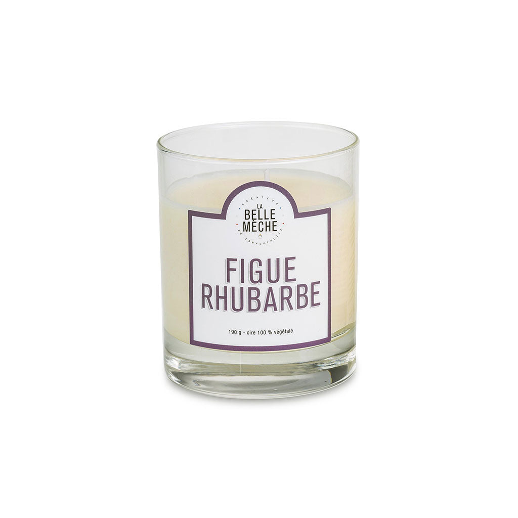 Fig Rhubarb (Figue Rhubarbe) Candle