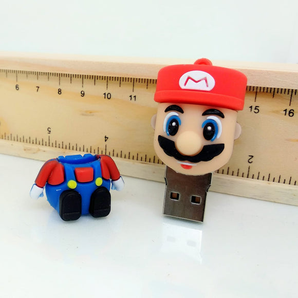 Super Mario Shaped 8 GB pen drive with USB 2.0