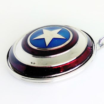 captain america shield spinner keychain for men, women and kids