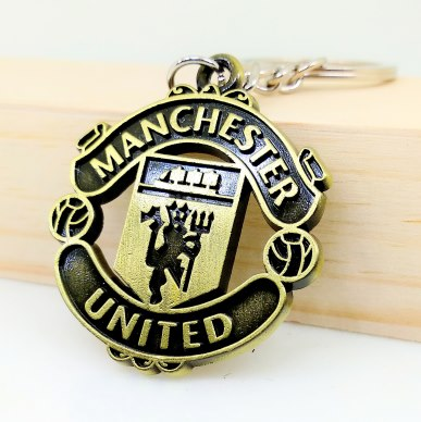 Manchester United Metal Keychain