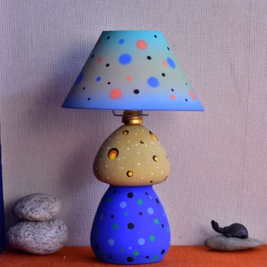 Terracotta Table Lamp for bedroom and desk