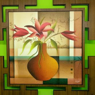 Wooden Frame Gift Flower Pot
