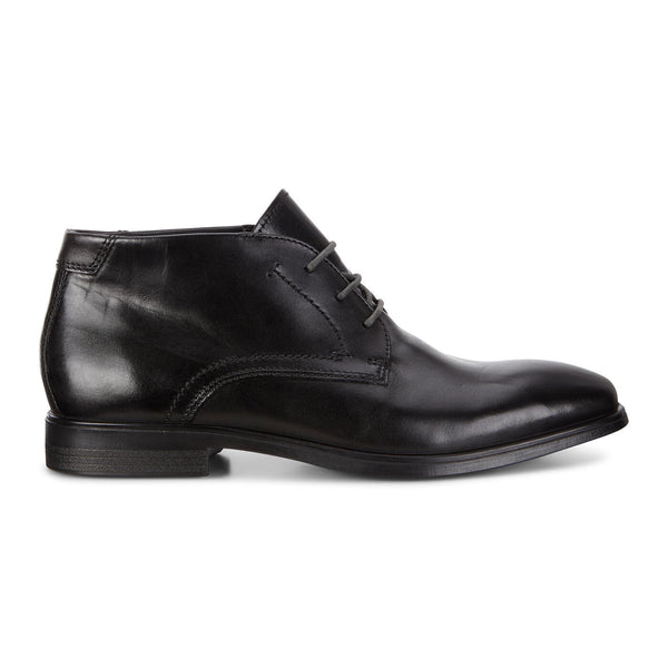 Mens - Ecco Melbourne Ankle Boot - Black