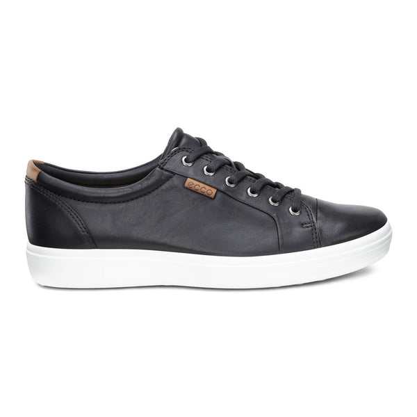 Mens - Ecco Soft 7 - Black / White