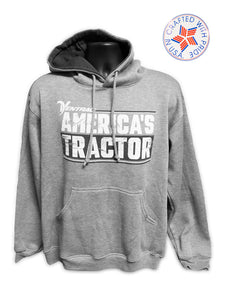 America's Tractor Hooded Sweatshirt - Made in the USA