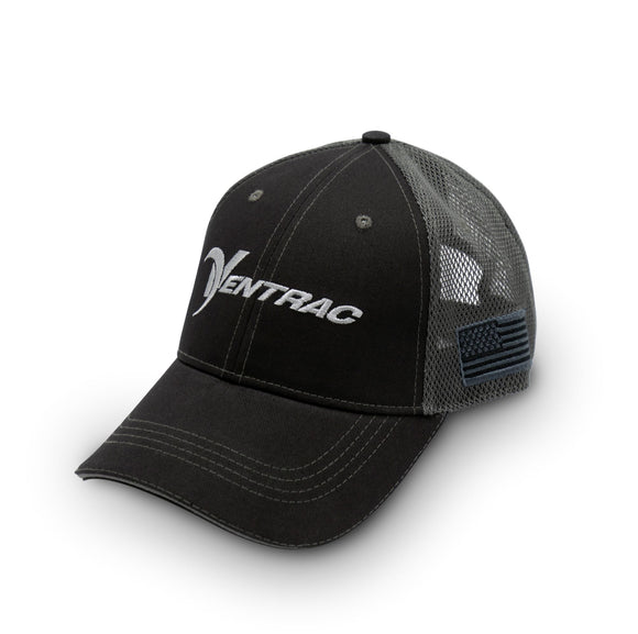 Ventrac Black & Grey Mesh Trucker Hat