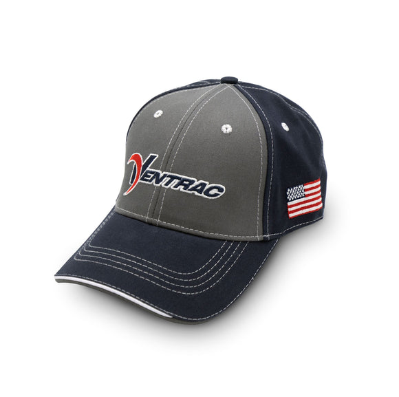 Ventrac Grey & Navy Flag Ball Cap