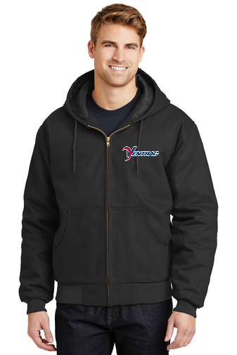 J763h Ventrac Hooded Work Coat