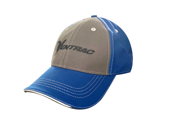 Royal Blue & Grey Ventrac Ball Cap