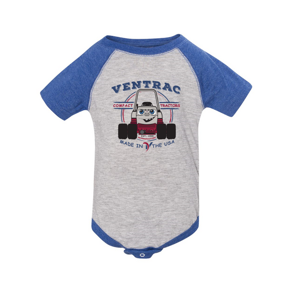 Venny Infant Baseball Bodysuit