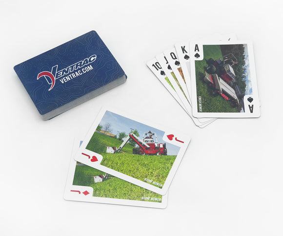 Ventrac Playing Cards