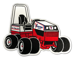 Embroidered Tractor Iron-On Patch