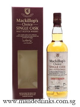 Dalmore 1986 24 Year Old (MacKillop's Choice)