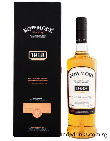 Bowmore 1988 29 Year Old (Vault One 2017 Release)