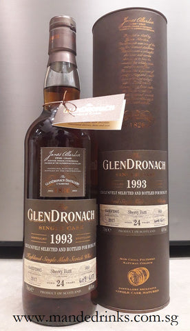 Glendronach 1993 24YO Single Cask #669
