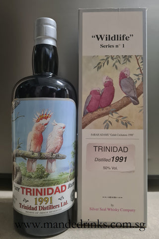 Trinidad 1991 20 Year Old Rum (Silver Seal)