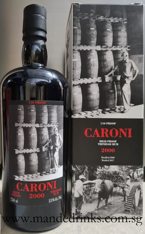 Caroni 2000 17YO High Proof US Edition (Velier)