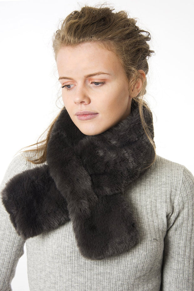 Dark Grey - Faux Fur