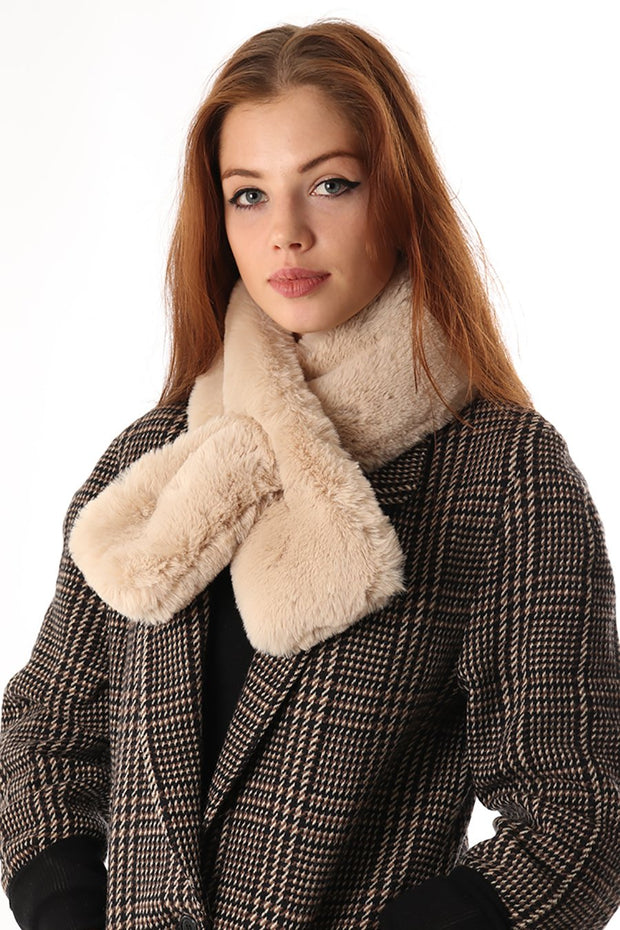 Neutral Collar - Faux Fur