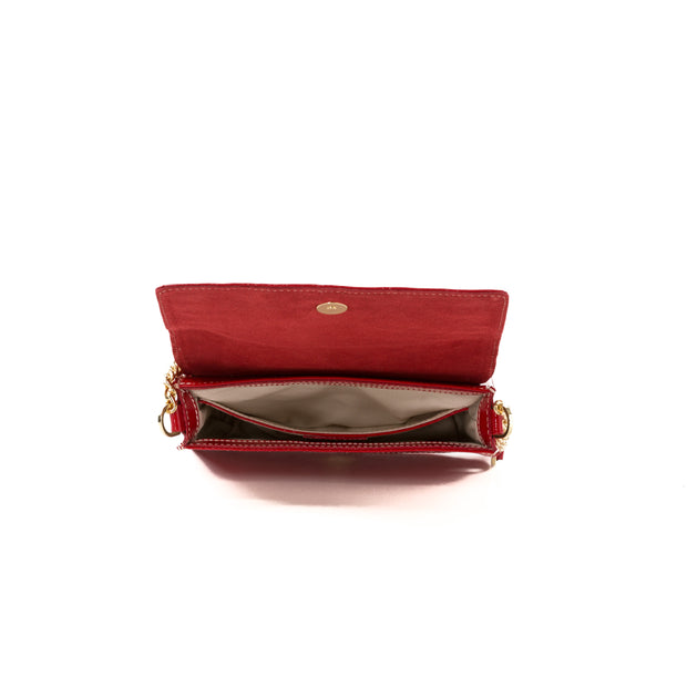 Arcadia Red Laura Flap Mini Cross