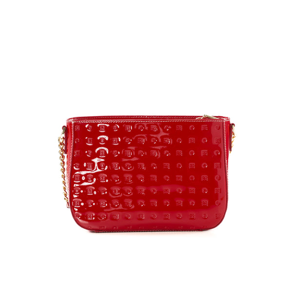 Arcadia Red Lorenzo Cross Body Handbag