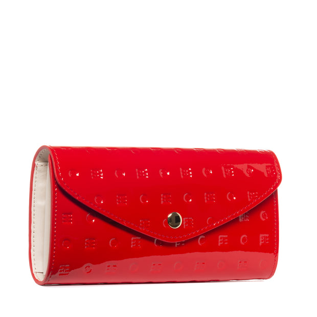 Arcadia Red Flappy Multi Pockets Wallet