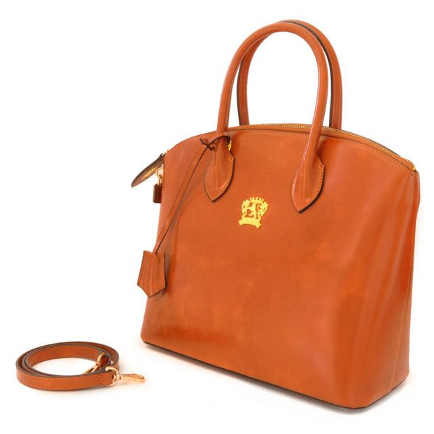 Pratesi Versilia leather hand bag.