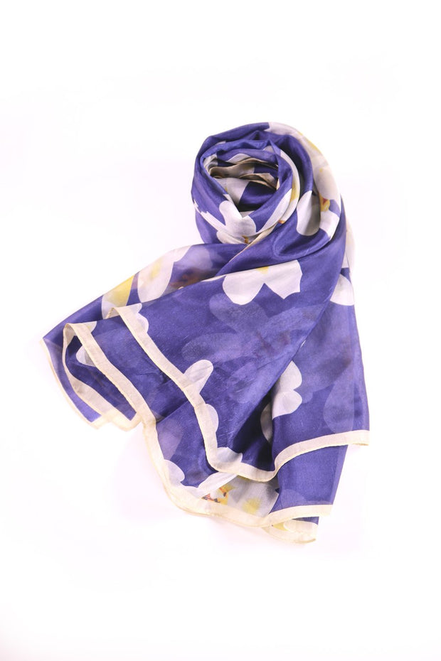 Orchid Floral - 100% Silk