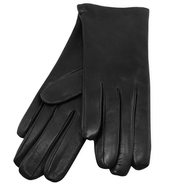 Belmore Boutique black leather gloves.