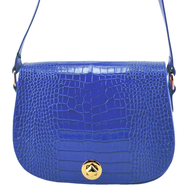 Giordano blue Caterina leather handbag.