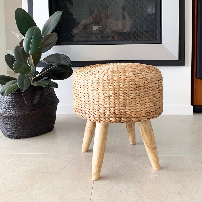 Seaside Round Stool